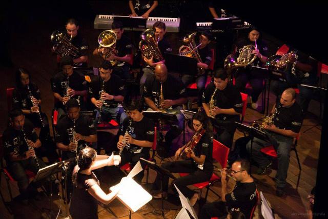 Orquestra UFGD  se apresenta hoje  no Kikão Restaurante  na programação do Festival Douradense de Música. - Crédito: Foto: Alex Almeida