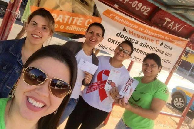 Campanha de Prevenção contra Hepatites Virais é realizada em Coxim - Crédito: Foto: SAE