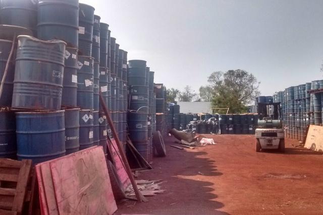 PMA autua empresa em R$ 117 mil por armazenamento ilegal de produto perigoso -
