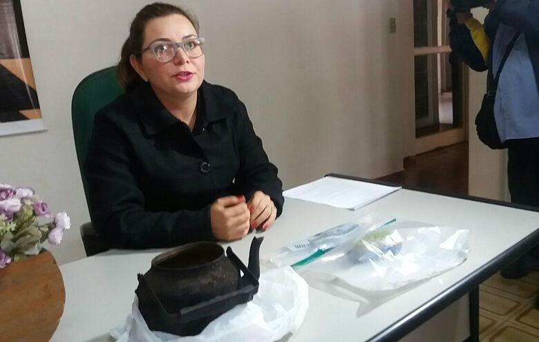 Delegada Paula Oruê conduz as investigações sobre a morte da criança -