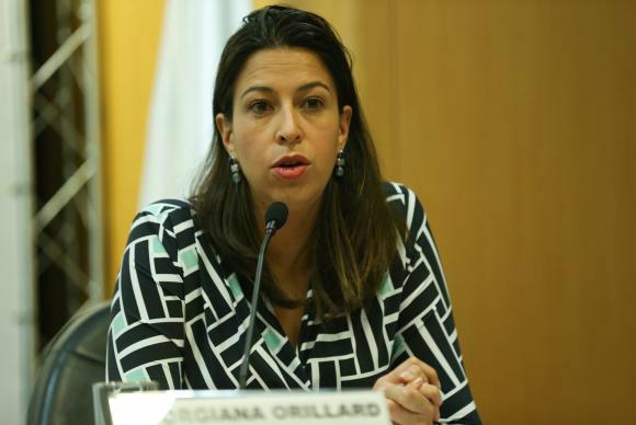 Georgiana Grillard, diretora do Unaids Brasil,defende reforço na prevenção da doença. - Crédito: Foto: Elza Fiuza/Agência Brasil