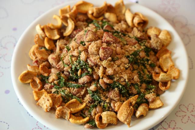 Festival Gastronômico de Dourados tem feijão tropeiro e farofa à base de proteína de soja. - Crédito: Foto: A. Frota