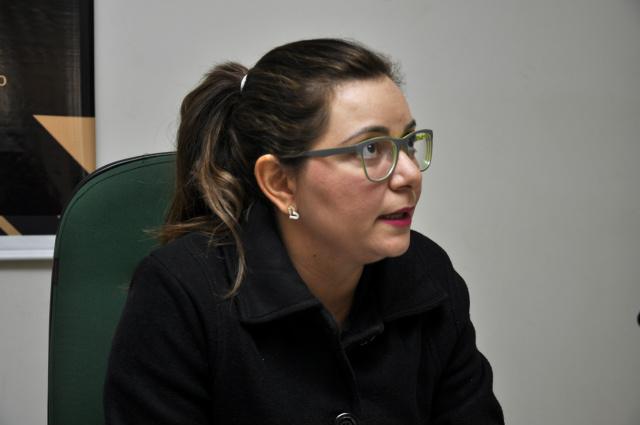 Delegada Paula Oruê, conduz as investigações sobre a morte da criança indígena. - Crédito: Foto: Hedio Fazan