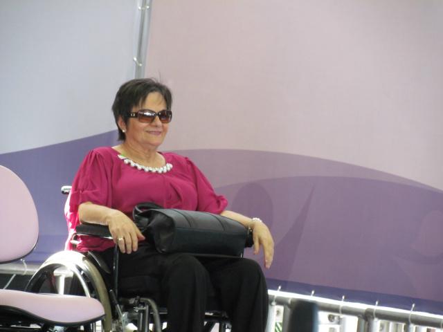 Maria da Penha, que deu nome à Lei que pune agressores de mulheres com prisão. - Crédito: Foto: Elvio Lopes