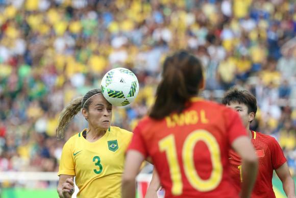 Brasil estreia com vitória contra a China, no Engenhão, na Rio 2016 Roberto Castro/Brasil2016  -