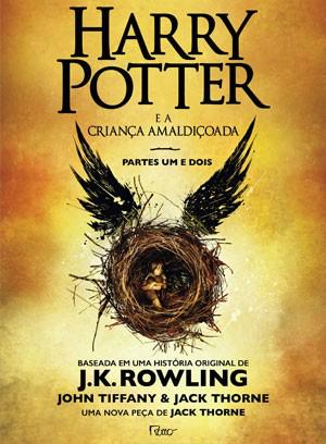 Capa do livro 'Harry Potter e a criança amaldiçoada'  - Crédito: Foto: Divulgação