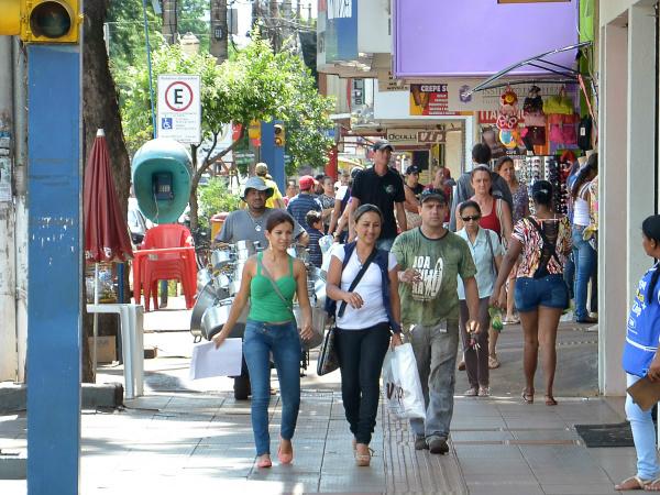 Comercio de Dourados atende em horário especial sexta-feira - Crédito: Foto: Marcos Ribeiro
