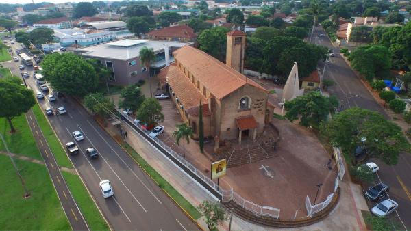 Santuário de Nossa Senhora do Perpétuo Socorro,   comemora 75 anos este mês. - Crédito: Foto: Divulgação