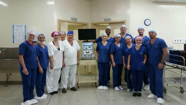Sob gestão de OS, Hospital Municipal de Chapadão do Sul realiza primeiras cirurgias por vídeo. - Crédito: Foto: Divulgação