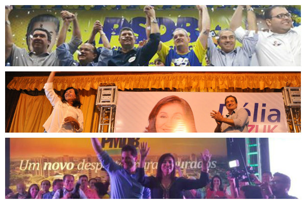 Convenções oficializam candidaturas de Geraldo Resende, Délia Razuk e Renato Câmara. -
