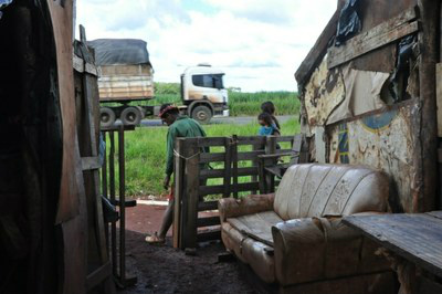 Segundo o MPF, 8 indígenas morreram no local -