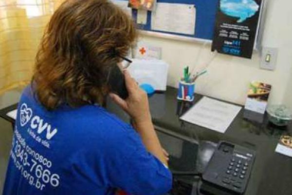 CVV é um dos serviços de prevenção no Brasil. - Crédito: Foto: Reprodução