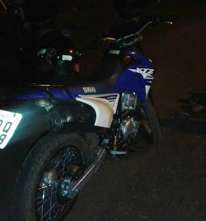 Moto Lander foi recuperada -