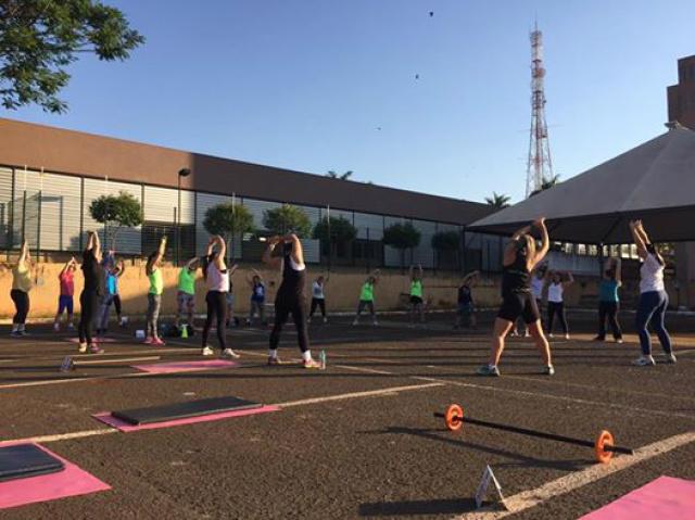 Os treinos acontecem no Parque dos Ipês e na Praça do Parque Alvorada. - Crédito: Foto: Divulgação