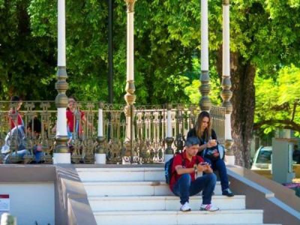 Corumbá tem acesso a internet gratuito em praças públicas -