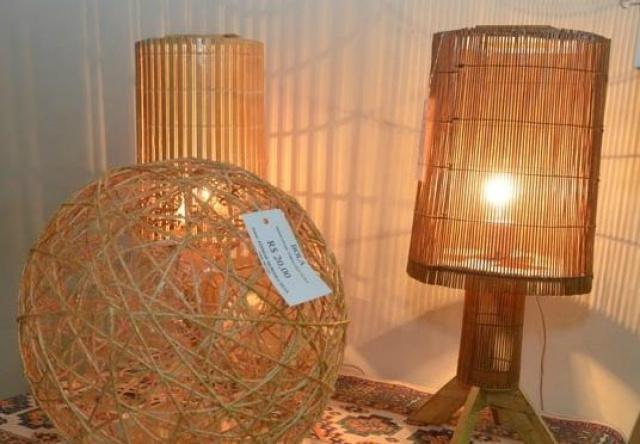 Artesanatos confeccionados nos presídios de Aquidauana estão em exposição este mês na cidade. - Crédito: Foto: Divulgação