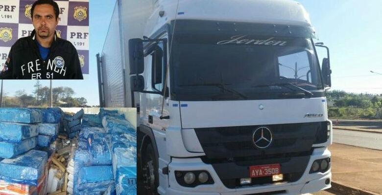 A carga seria levada para o Rio de Janeiro - Crédito: Sidnei Bronka/94FM