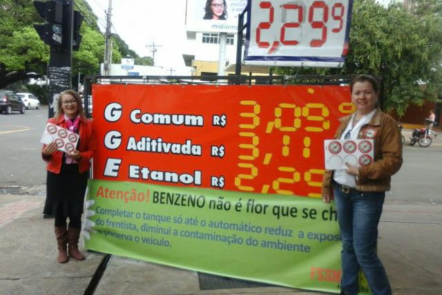 MPT fiscaliza cumprimento da lei do benzeno em postos de combustíveis de Campo Grande -