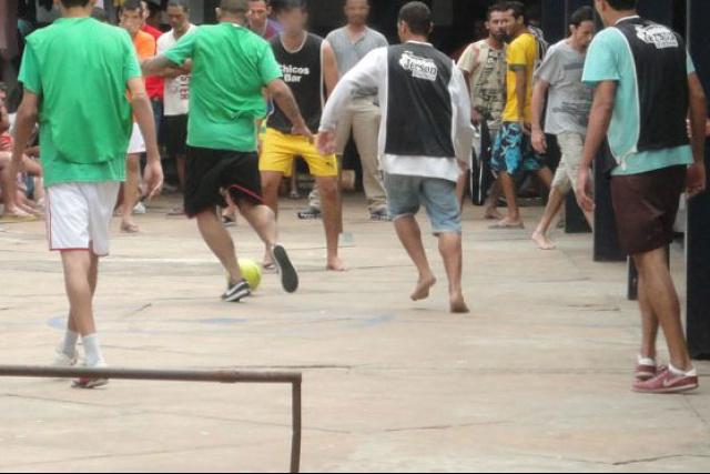 Campeonato em presídio da Capital une futebol e ação social -