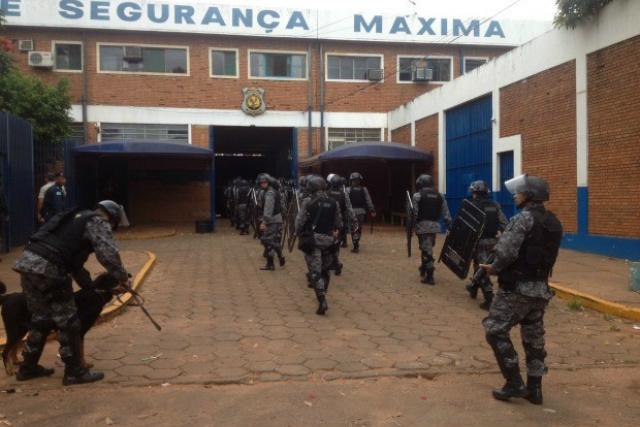 Complexo Penitenciário de Campo Grande existem bloqueadores, mas não são eficientes, diz Stropa. - Crédito: Foto: Tatiane Queiroz/G1