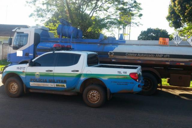 PMA apreende 14 mil litros de óleo queimado e autua empresa paulista em R$ 10 mil  -