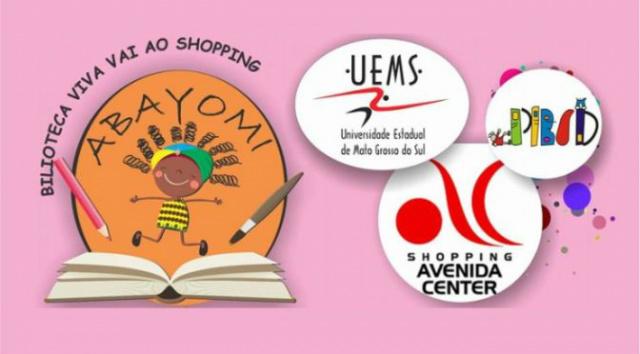 Biblioteca Viva da UEMS fará apresentações no Shopping de Dourados -