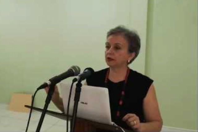 Maria Túlia Bertoni, Coordenadora da Área de Estudos da FEMS. -