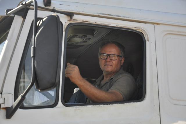 Paulo César Sare é de Goiás e tem três filhos e está na profissão há duas décadas. - Crédito: Foto: Hedio Fazan