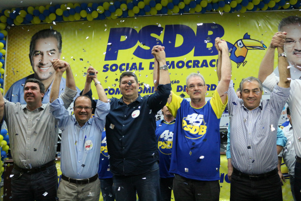 PSDB lançou Geraldo Resende em convenção -