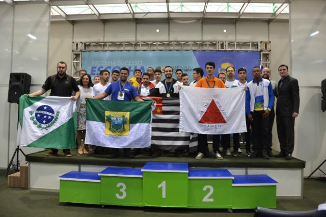 Paulo Sérgio de Medeiros Junior, de São Paulo, capital,  foi o competidor que alcançou a maior pontuação nas provas. - Crédito: Divulgação