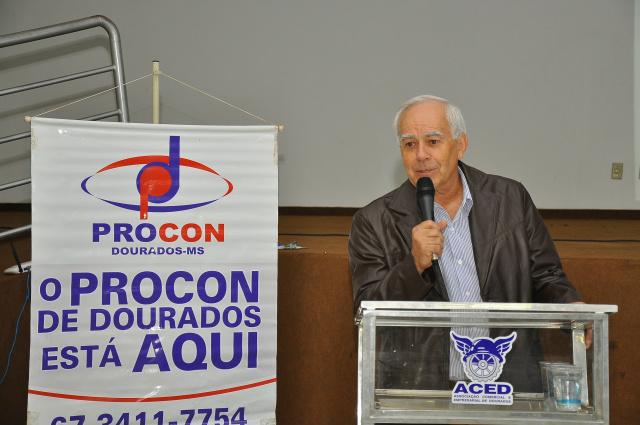 Vice-prefeito Odilon Azambuja lançou campanha Saindo do Sufoco na sexta-feira passada. - Crédito: Foto: A. Frota