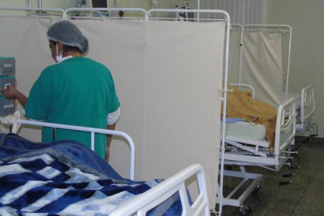 Entregues pelo governo, leitos de UTI do Hospital do Câncer. - Crédito: Foto: Divulgação