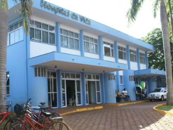 Vítima foi encaminhada para o Hospital da Vida, em Dourados, com fratura exposta. - Crédito: Foto: Divulgação