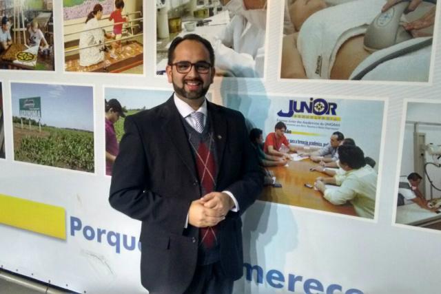Professor Valdir Pereira é o palestrante do Despertar. - Crédito: Foto: Divulgação