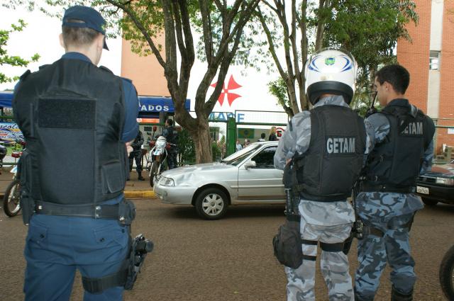 A Polícia Militar confirmou que no dia da votação colocar à disposição todo o efetivo para atuar. - Crédito: Foto: Hedio Fazan/Arquivo