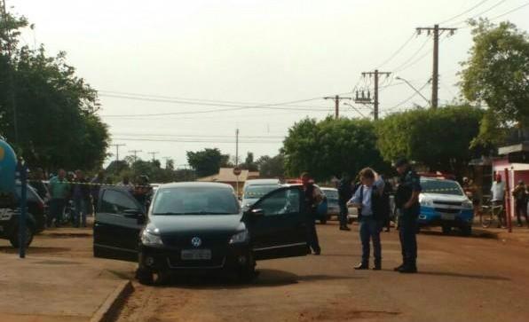 O advogado foi morto dentro do veículo - Crédito: Júlia Kaifanny
