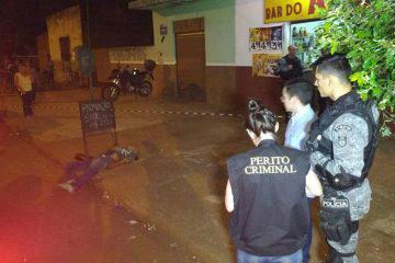 Laércio foi morto com três tiros Foto: Adalberto Domingos/FM Cidade 101 -