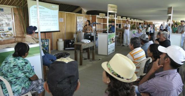 O evento aconteceu no auditório do Sindicato Rural da cidade. - Crédito: Foto: Divulgação