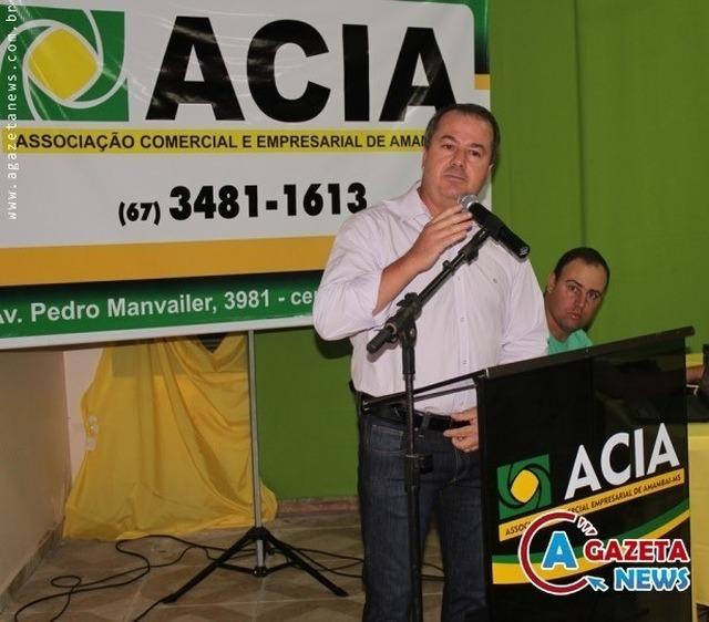 O presidente da ACIA, Clemente Júnior. - Crédito: Foto: Divulgação