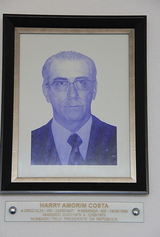 Apesar de pouco tempo no cargo, Harry Amorim foi o primeiro governador de MS nomeado - Crédito: Foto: arquivo