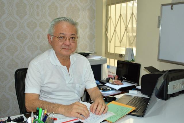 O médico Paulo César Yui, obstetra, ginecologista e ortomolecular - Crédito: Foto: Hédio Fazan
