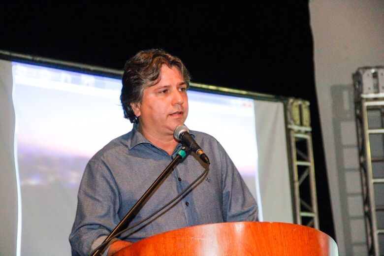 Presidente da Assomasul - Crédito: Associação dos Municípios de Mato Grosso do Sul