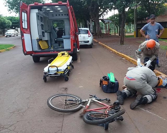 Carreta atropela criança que seguia para escola em Dourados - Crédito: Foto: Cido Costa/Dourados Agora