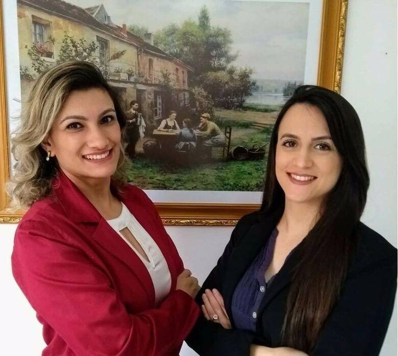 Karoline Heydt e Landi Aramí são gestoras ambientais e trabalham com consultoria -
