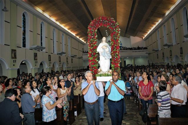 Católicos celebram Dia da Imaculada Conceição; 50 anos de bênçãos do céu - Crédito: Foto: Arquivo/O PROGRESSO