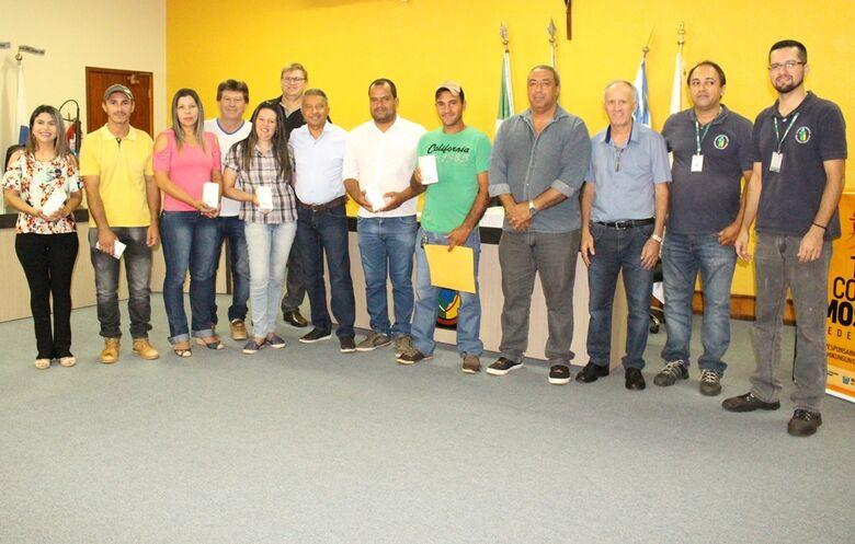 Os coordenadores do setor de Controle de Vetores. - Crédito: Foto: Vilson Nascimento