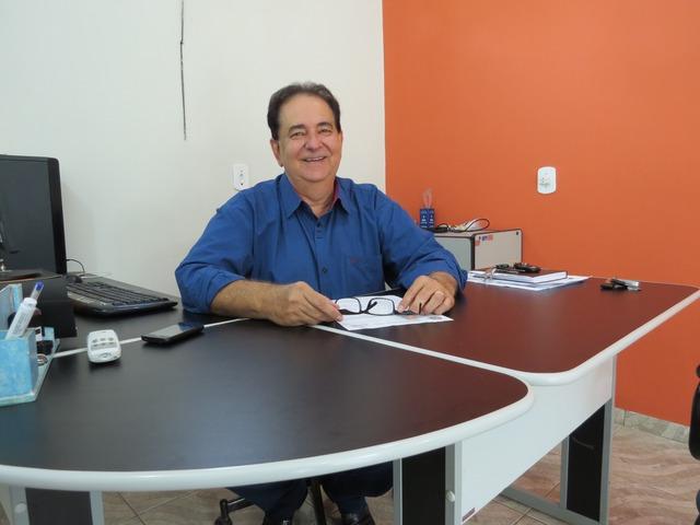 O prefeito Marcos Pacco - Crédito: Foto: Divulgação