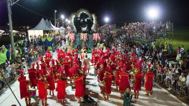 Passarela do Samba, na Avenida Alfredo Scaff, que apresentará desfiles das escolas na segunda e terça-feira - Crédito: Foto: divulgação