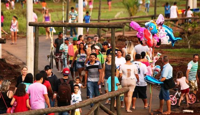 Ambulantes que queiram trabalhar no Parque durante a Festa do Peixe devem se inscrever até dia 15 - Foto: A. Frota/ arquivo -