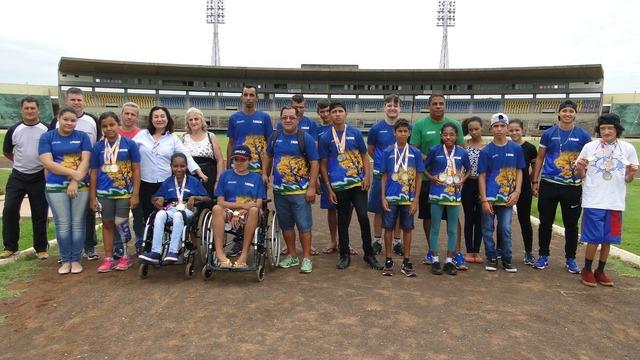Douradenses participam da etapa Centro-Leste de Atletismo em Goiás - Crédito: Foto/ Waldemar Gonçalves - Russo